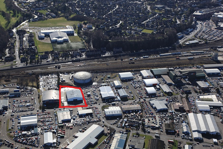 Shepherd acquires industrial unit in Inverness for Park's Motor Group