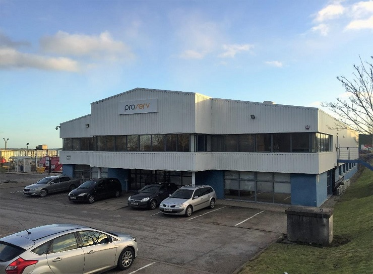 Large industrial unit at Kirkhill Industrial Estate Aberdeen for sale or lease
