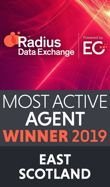 Shepherd named Most Active Agent 2019 for East Scotland