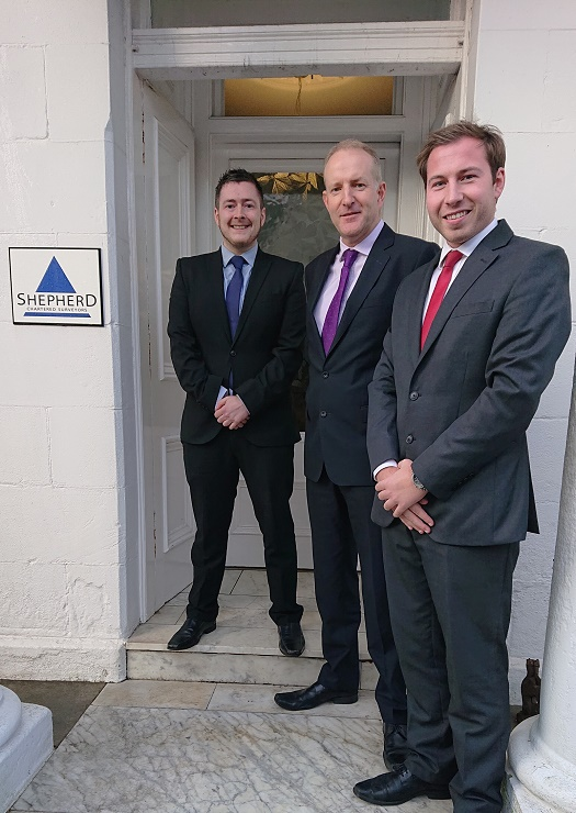 Shepherd promotes two former graduate surveyors to office management roles