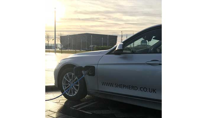 Shepherd Helping Drive Dundee's Pole Position for Electric Transport