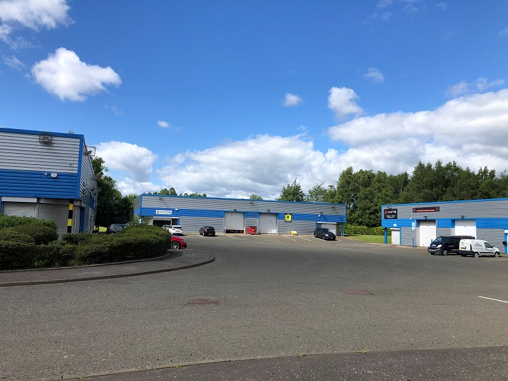 Prime multi-let industrial investment opportunity in Blantyre for sale