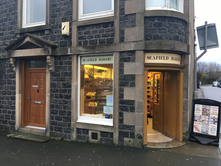 The Seafield Bakery in Banff for sale