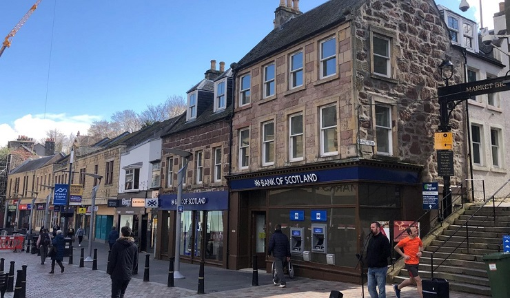 Shepherd markets prime retail investment in Inverness for sale
