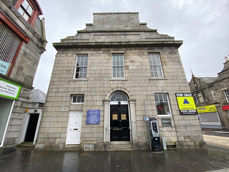Virtual viewings and online auctions help Shepherd sell quartet of commercial properties in Huntly for £575K