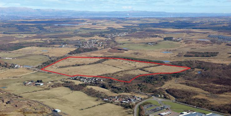 Albert Bartlett Properties instructs Shepherd to invite bids from housebuilders to deliver exclusive new village in Lanarkshire