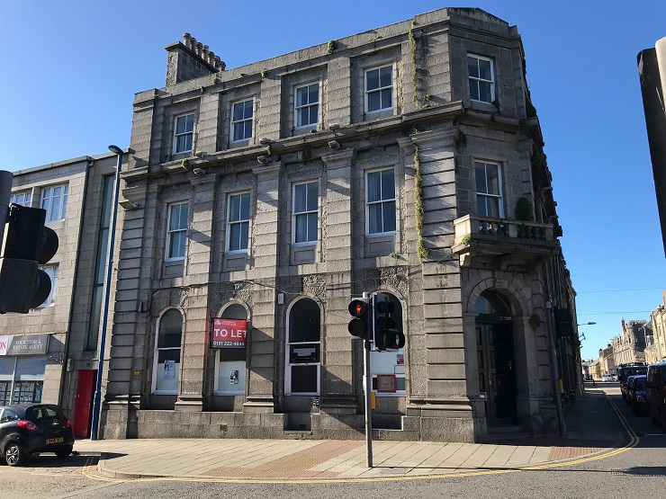Substantial development opportunity in Fraserburgh town centre for sale