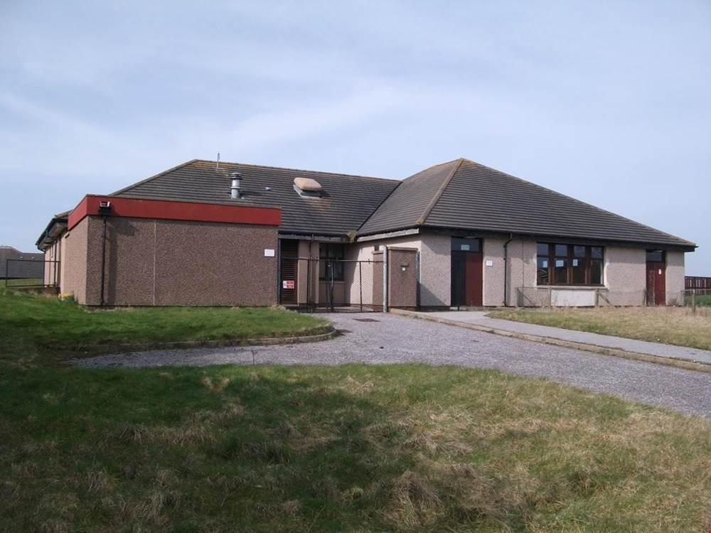 Former community centre in Boddam Peterhead for sale