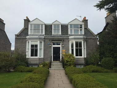 Prestigious detached West End office in Aberdeen for lease or sale