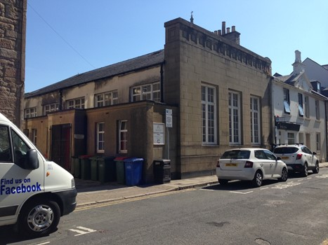 Church hall and meeting rooms in Ayr town centre for sale