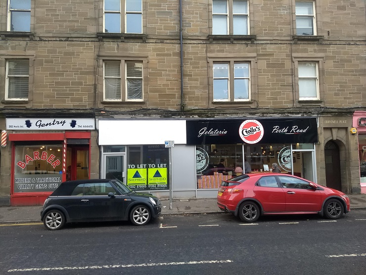 Shepherd brings Crolla's Gelateria to Dundee and offers refurbished unit next door