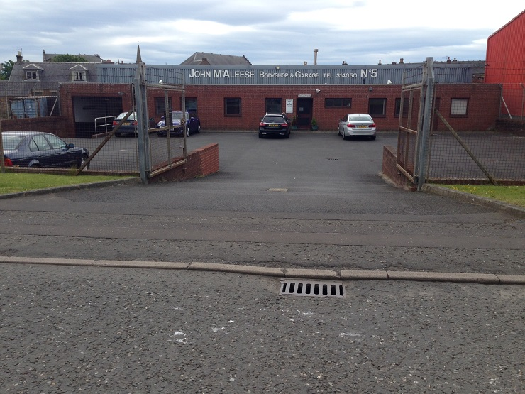 Industrial workshop premises with development potential in Troon for sale