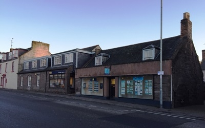 Shepherd offers investment opportunity partly let to global real estate services provider in Brechin for sale
