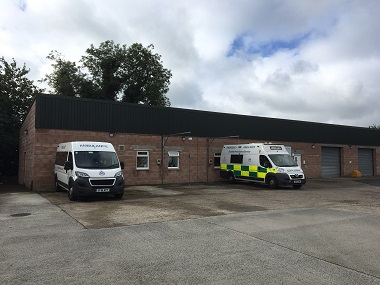 Shepherd offers ambulance depot investment opportunity in Newton Stewart for sale