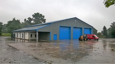 Shepherd offers new industrial unit and yard at Beattock for let