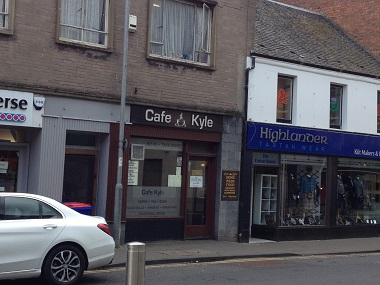 Shepherd offers popular café in Ayr town centre for sale