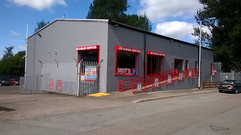 Shepherd offers rarely available industrial trade counter in Dumfries for sale or to let