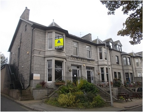 Shepherd sets closing date for hotel with restaurant and public bar in Aberdeen for sale