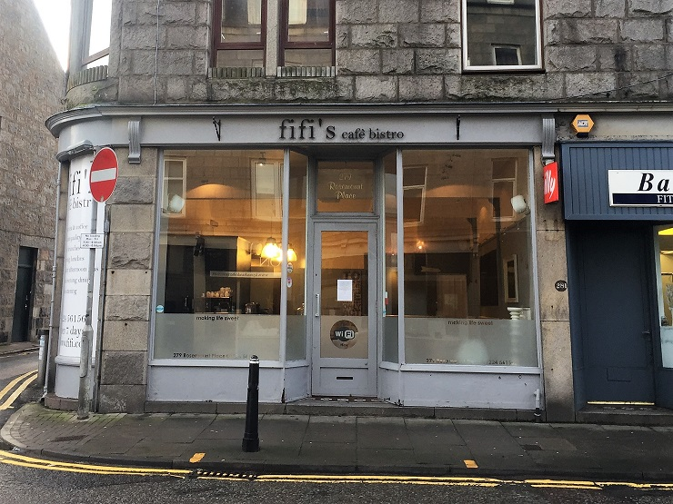 Shepherd Offers Fully Fitted Café In Aberdeen To Let