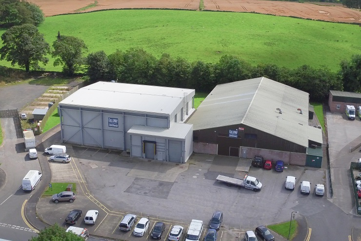 modern food factory and cold store in Dumfries & Galloway for sale or lease