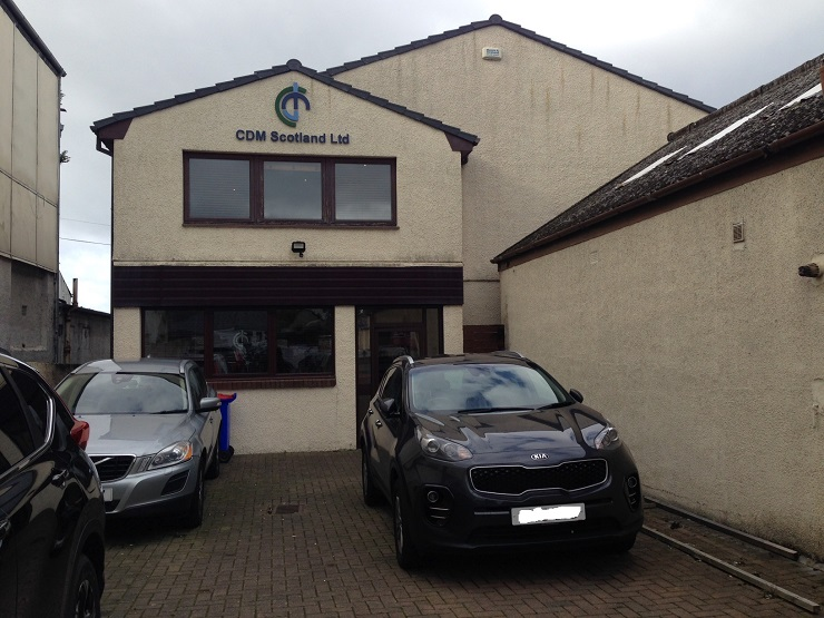 Modern high quality office premises in Ayr for sale