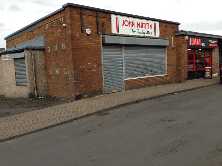 Prominent corner unit with hot food takeaway consent in Ayr for lease or sale
