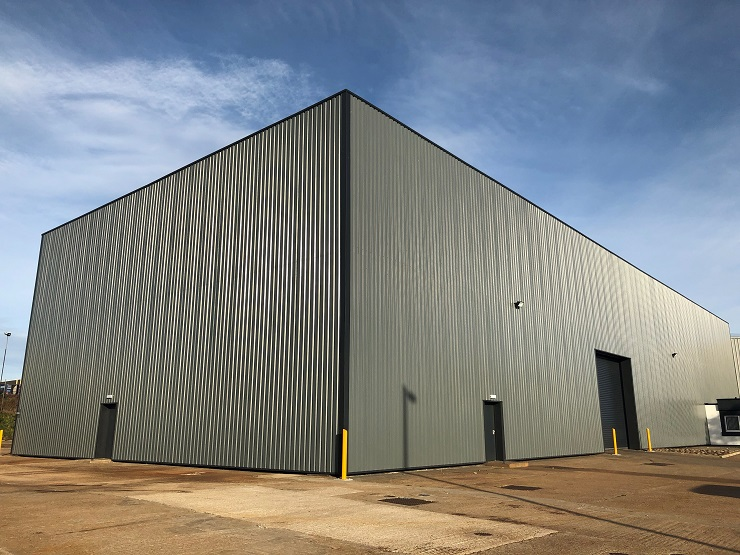 Refurbished industrial unit in Aberdeen to let