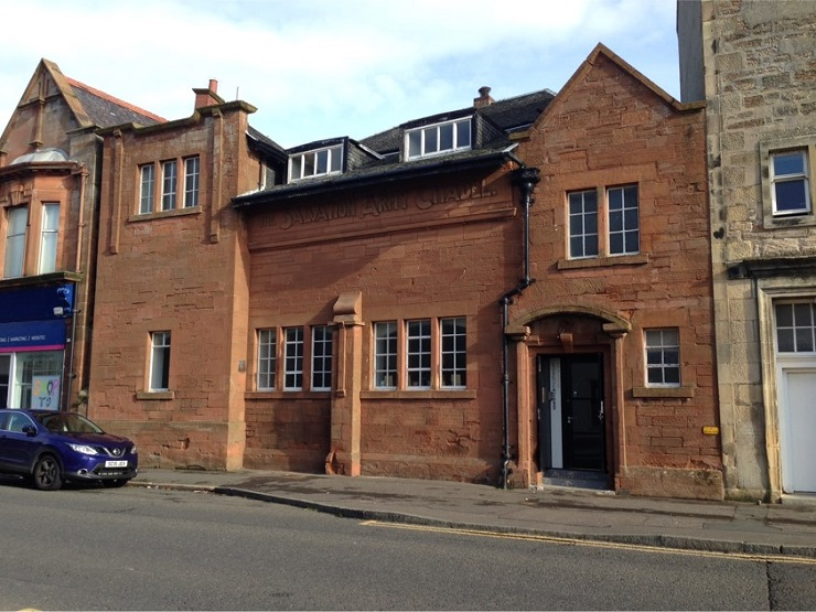 Attractive period building with modern office accommodation in Ayr for sale or lease
