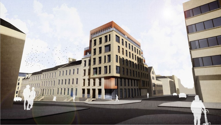 Closing date set on sale of prime city centre redevelopment opportunity in Glasgow with serviced apartment scheme consent