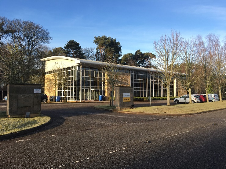 Office suite at Alness Point Business Park for lease or sale