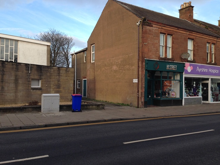 Prime retail unit in Prestwick to let