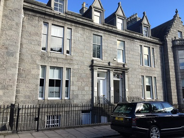 West end office in Aberdeen available to let on floor by floor basis