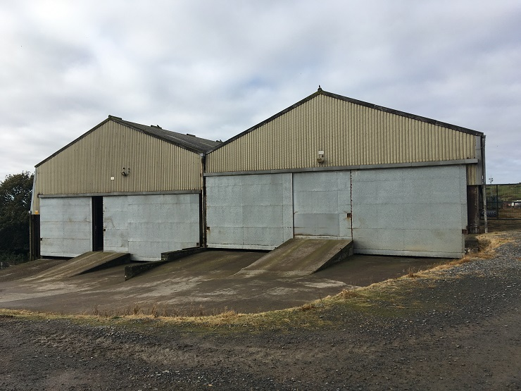 Industrial unit at Stoneyhill Farm Peterhead to let
