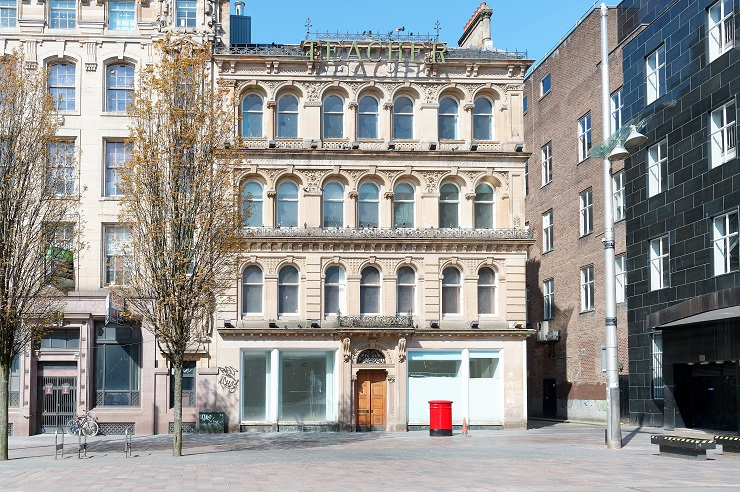 Shepherd invites offers over £1.35M for iconic Teacher building in Glasgow's St Enoch Square as prime city centre development opportunity