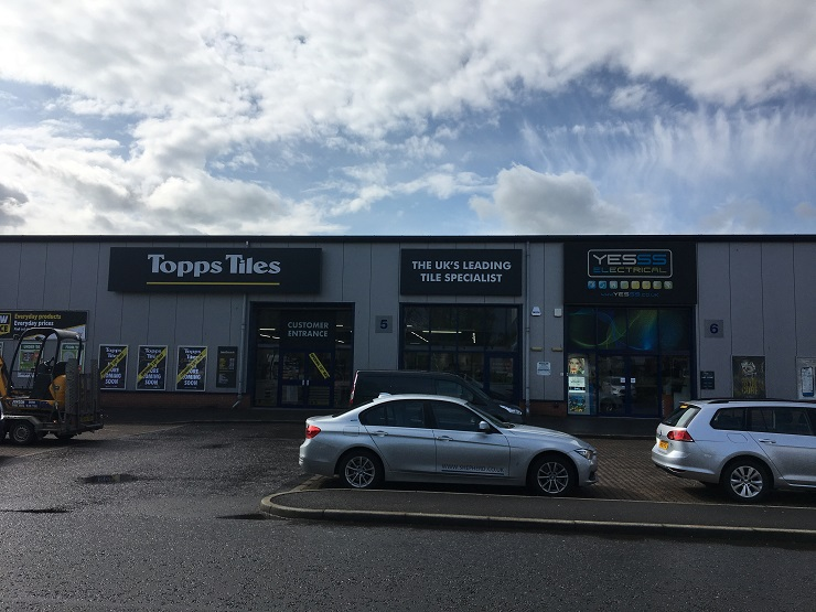 Shepherd secures Stirling outlet for Topps Tiles