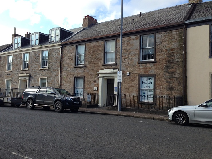 Townhouse office investment in Ayr town centre for sale