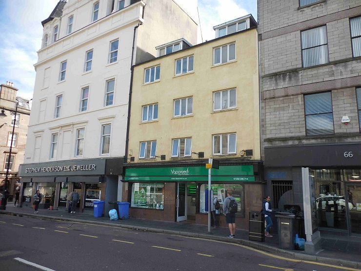 Retail investment opportunity on busy city centre parade in Dundee for sale