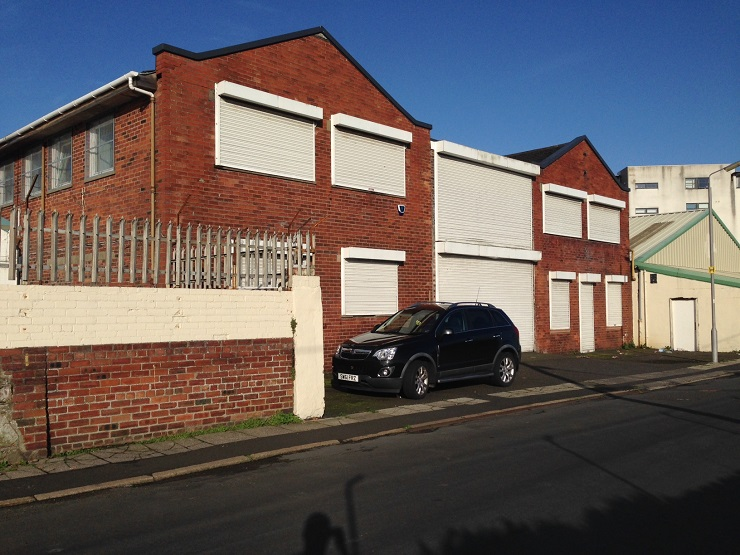 Offices with workshop in Ayr for sale