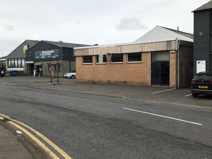 Shepherd brings to market workshop in prominent Kilmarnock location for lease